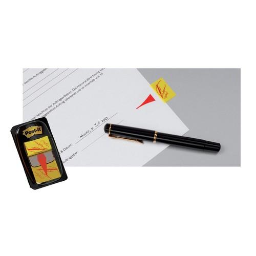 Haftstreifen Post-it Index Symbol Unterschrift 25,4x43,2mm gelb transparent 3M 680-31 (PACK=50 STÜCK) Produktbild Additional View 6 L