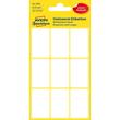 Mini-Etiketten für Handbeschriftung 38x24mm weiß Zweckform 3045 (PACK=63 STÜCK) Produktbild