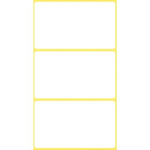 Universal-Etiketten für Handbeschriftung 66x38mm weiß Zweckform 3084 (PACK=18 STÜCK) Produktbild Additional View 1 L