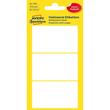 Universal-Etiketten für Handbeschriftung 66x38mm weiß Zweckform 3084 (PACK=18 STÜCK) Produktbild