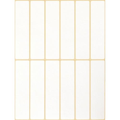 Universal-Etiketten für Handbeschriftung 76x19mm weiß Zweckform 3328 (PACK=324 STÜCK) Produktbild Additional View 1 L