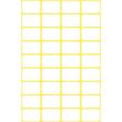 Mini-Etiketten für Handbeschriftung 18x12mm weiß Zweckform 3042 (PACK=216 STÜCK) Produktbild Additional View 1 S