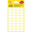 Mini-Etiketten für Handbeschriftung 18x12mm weiß Zweckform 3042 (PACK=216 STÜCK) Produktbild