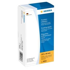 Frankieretiketten einzeln 157x40mm weiß Herma 4323 (PACK=500 STÜCK) Produktbild