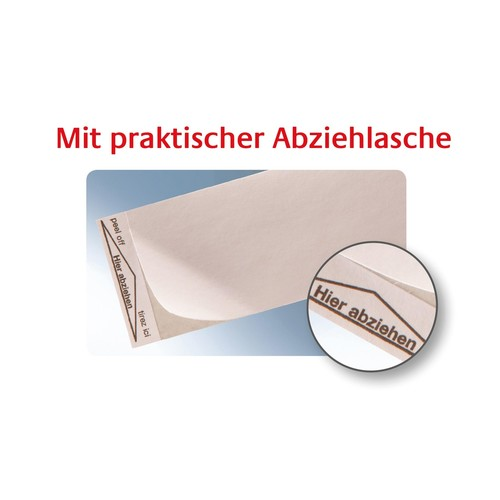 Frankieretiketten einzeln 168x44mm weiß Zweckform 3432 (PACK=1000 STÜCK) Produktbild Additional View 2 L