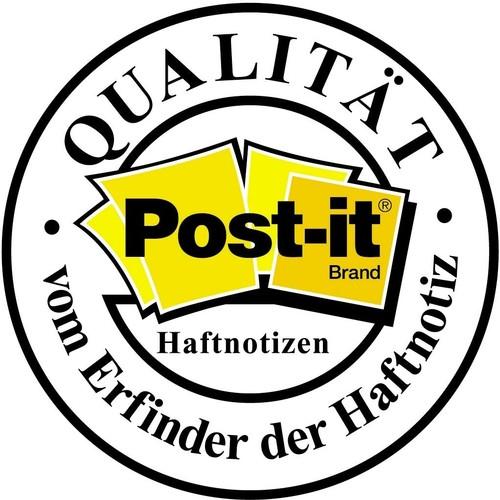 Haftnotizen Post-it Notes 76x76mm gelb Papier 3M 654 (ST=100 BLATT) Produktbild Additional View 8 L