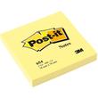 Haftnotizen Post-it Notes 76x76mm gelb Papier 3M 654 (ST=100 BLATT) Produktbild