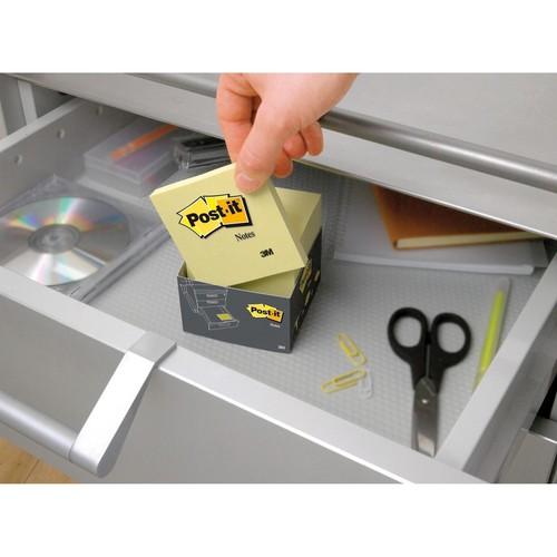 Haftnotizen Post-it Notes 76x76mm gelb Papier 3M 654 (ST=100 BLATT) Produktbild Additional View 7 L