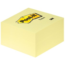 Haftnotizen Post-it Notes Würfel 76x76mm gelb Papier 3M 636B (ST=450 BLATT) Produktbild