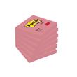 Haftnotizen Post-it Notes 76x76mm neonpink Papier 3M 654NPI (ST=100 BLATT) Produktbild