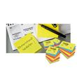 Haftnotizen Post-it Notes 76x76mm neonpink Papier 3M 654NPI (ST=100 BLATT) Produktbild Additional View 4 S