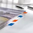 Haftmarker Pergament 50x20mm 4 Farben Papier Sigel HN671 (PACK=4x 40 STÜCK) Produktbild Additional View 2 S