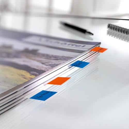 Haftmarker Pergament 50x20mm 4 Farben Papier Sigel HN671 (PACK=4x 40 STÜCK) Produktbild Additional View 2 L