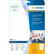 Etiketten Inkjet+Laser+Kopier 96x63,5mm auf A4 Bögen Movables weiß wiederablösbar Herma 4350 (PACK=200 STÜCK) Produktbild Additional View 1 S