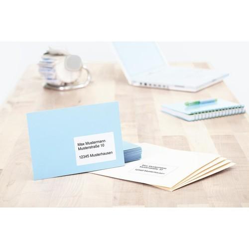 Etiketten PREMIUM  Inkjet+Laser+Kopier 96,5x67,7mm auf A4 Bögen weiß permanent Herma 4359 (PACK=200 STÜCK) Produktbild Additional View 3 L