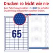 Etiketten Inkjet+Laser+Kopier 38x21,2mm auf A4 Bögen weiß Zweckform 3666 (PACK=6500 STÜCK) Produktbild Additional View 3 S