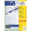 Etiketten Inkjet+Laser+Kopier 64,4x33,8mm auf A4 Bögen weiß Zweckform 3658 (PACK=2400 STÜCK) Produktbild Additional View 1 S