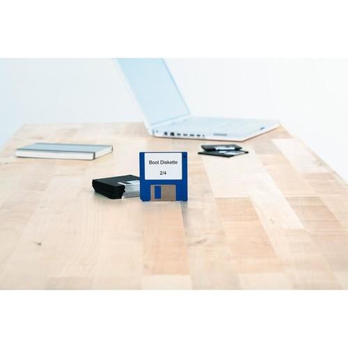 Disketten-Etiketten Inkjet+Laser+Kopier 70x50,8mm auf A4 Bögen weiß permanent Herma 4353 (PACK=250 STÜCK) Produktbild Additional View 3 L