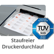 Etiketten Inkjet+Laser+Kopier 70x67,7mm auf A4 Bögen weiß Zweckform 3661 (PACK=1200 STÜCK) Produktbild Additional View 8 S