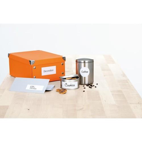 Etiketten PREMIUM Inkjet+Laser+Kopier 105x41mm auf A4 Bögen weiß permanent Herma 4475 (PACK=1400 STÜCK) Produktbild Additional View 3 L