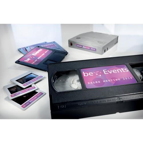 Disketten-Etiketten Inkjet+Laser+Kopier 59x50mm auf A4 Bögen weiß wiederablösbar Zweckform L4747REV-25 (PACK=375 STÜCK) Produktbild Additional View 5 L