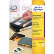 Disketten-Etiketten Inkjet+Laser+Kopier 59x50mm auf A4 Bögen weiß wiederablösbar Zweckform L4747REV-25 (PACK=375 STÜCK) Produktbild Additional View 1 S