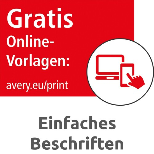 Etiketten Inkjet+Laser+Kopier 105x33,8mm auf A4 Bögen weiß Zweckform 3665 (PACK=1600 STÜCK) Produktbild Additional View 7 L