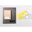 Etiketten Inkjet+Laser+Kopier 105x33,8mm auf A4 Bögen weiß Zweckform 3665 (PACK=1600 STÜCK) Produktbild Additional View 4 S