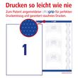 Etiketten Inkjet+Laser+Kopier 210x297mm auf A4 Bögen weiß Zweckform 3478 (PACK=100 STÜCK) Produktbild Additional View 3 S