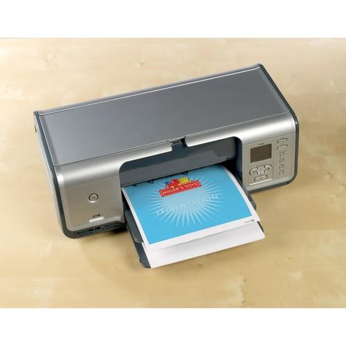 CD-Etiketten Inkjet 117mm ø auf A4 Bögen weiß high-glossy Zweckform C9660-25 (PACK=50 STÜCK) Produktbild Additional View 8 L