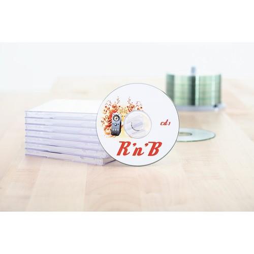 CD-Etiketten Inkjet+Laser+Kopier ø116mm auf A4 Bögen weiß matt blickdicht permanent Herma 5079 (PACK=50 STÜCK) Produktbild Additional View 3 L