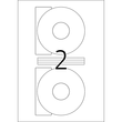 CD-Etiketten Inkjet+Laser+Kopier ø116mm auf A4 Bögen weiß matt blickdicht permanent Herma 5079 (PACK=50 STÜCK) Produktbild Additional View 2 S