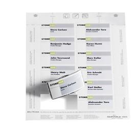 Einsteckschilder BADGEMAKER für 40x75mm Namensschilder weiß Durable 1453-02 (PACK=240 STÜCK) Produktbild