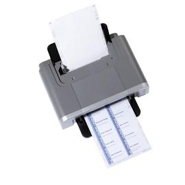 Einsteckschilder BADGEMAKER für 54x90mm Namensschilder weiß Durable 1455-02 (PACK=200 STÜCK) Produktbild