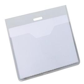 Namensschilderhülle ohne Clip offene Tasche 60x90mm Durable 8136-19 (PACK=20 STÜCK) Produktbild