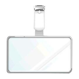 Ausweis-Hartbox mit Clip für Betriebsausweise 86x54mm ID 200130 Produktbild