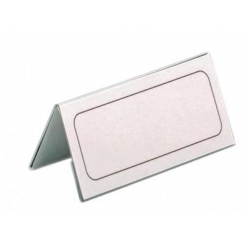Tischnamensschild Dachform 52x100mm transparent Hartfolie Durable 8051-19 Produktbild