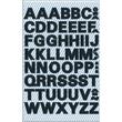 Buchstaben-Etiketten Alphabet 9,5mm schwarz wetterfest selbstklebend Zweckform 3780 (BTL=140 STÜCK) Produktbild Additional View 1 S