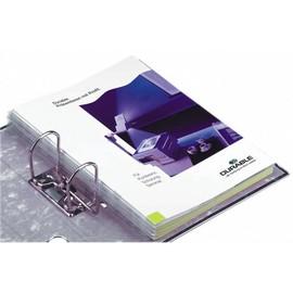 Abheftstreifen Filefix für A4 2,5x29,5cm transparent selbstklebend Durable 8061-19 (PACK=10 STÜCK) Produktbild