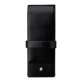 Lederetui Meisterstück schwarz Leder für 3 Schreibgeräte Classique/LeGrand Montblanc 14313 Produktbild