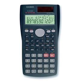 Taschenrechner 2-zeiliges Display 240 Funktionen 12,2x85x155mm Solar-/Batteriebetrieb Casio FX-85 MS-2 Produktbild
