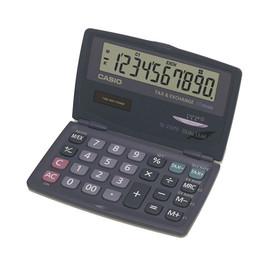 Taschenrechner 10-stelliges Display 12,5x120x73mm Solar-/Batteriebetrieb mit Klappdeckel Casio SL-210 TE Produktbild