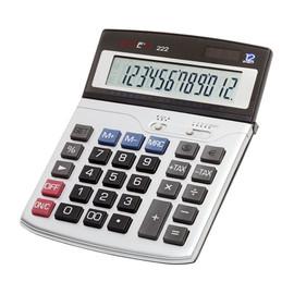 Taschenrechner 12-stelliges Display 222 185x135x25mm Solar-/Batteriebetrieb Genie 10108 Produktbild