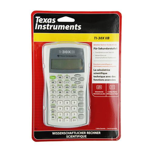 Taschenrechner 2 Zeiliges Display 172x247x31mm Batteriebetrieb Texas