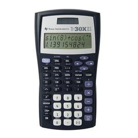 Taschenrechner 2-zeiliges Display 82x155x19mm Solarbetrieb Texas Instruments TI-30 X II S Produktbild