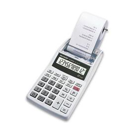 Tischrechner 12-stelliges LCD-Display 96x191x40mm einfarbiger Druck Batteriebetrieb Sharp EL-1611 PGY Produktbild