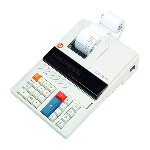 Tischrechner 12-stelliges Display Triumph Adler 121PD Eco zweifarbiger Druck Netzbetrieb 215x310x82mm Produktbild Additional View 1 L