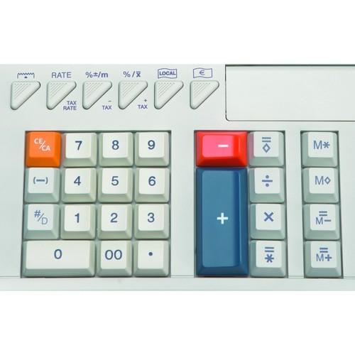 Tischrechner 12-stelliges Display Triumph Adler 121PD Eco zweifarbiger Druck Netzbetrieb 215x310x82mm Produktbild Additional View 3 L