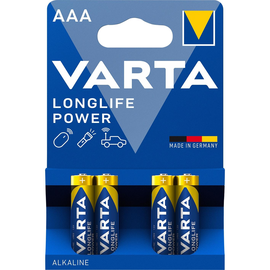 Batterien High Energy Micro AAA 1,5V 1200mAh Varta 4903 (PACK=4 STÜCK) Produktbild
