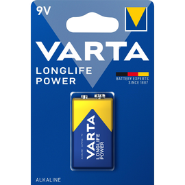 Batterie High Energy E-Block 9V 550mAh Varta 4922 Produktbild